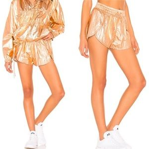 Free People Movement Windjammer Rose Gold Shorts